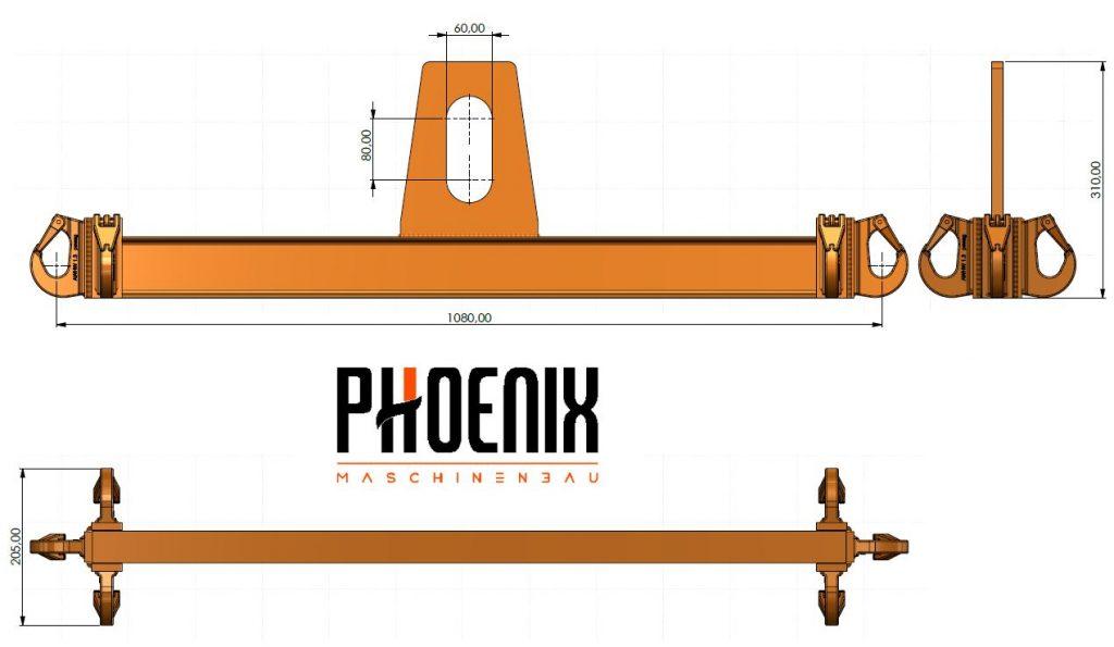 Balkentraverse Phoenix Maschinenbau